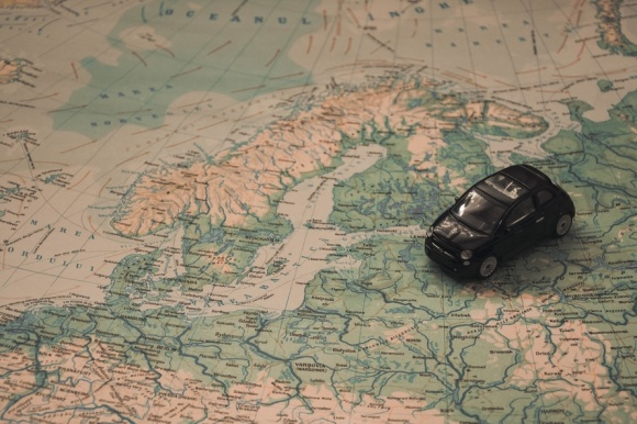 map-toy-car